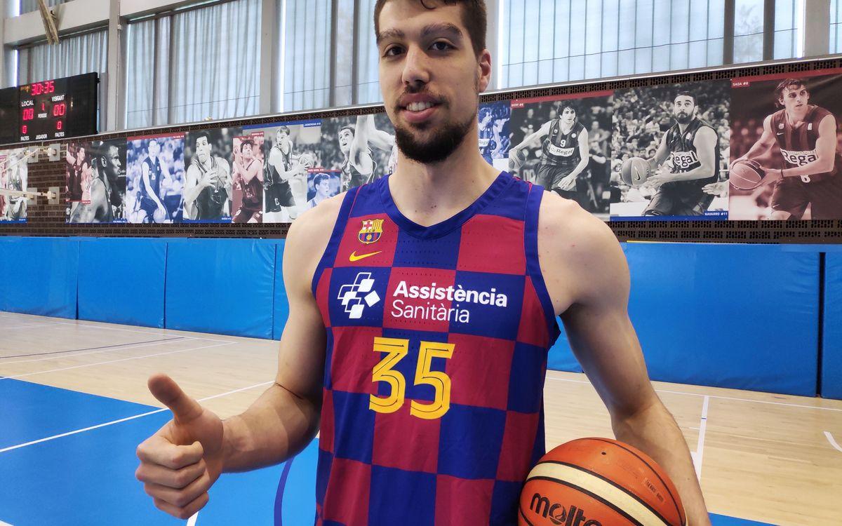 Jaume Sorolla vuelve a la disciplina azulgrana