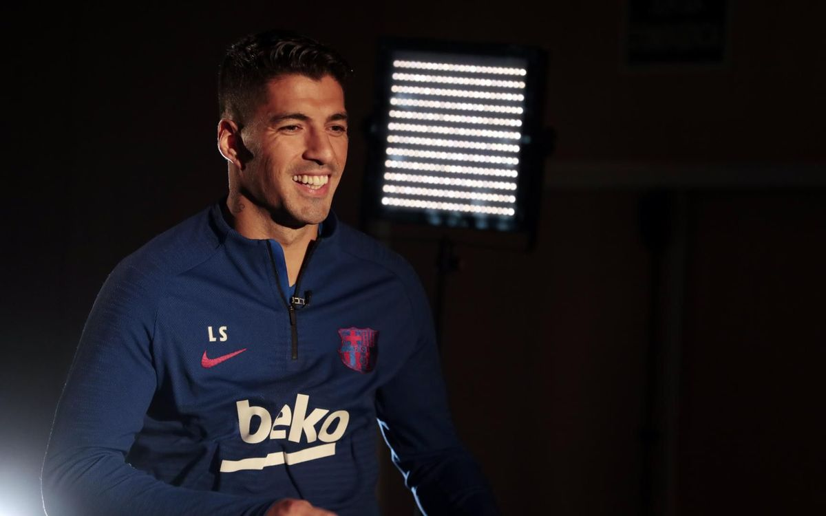 Luis Suárez: 'I'm working every day on my recovery'