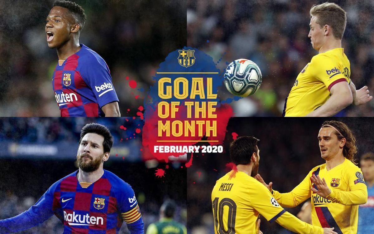 Quin ha estat el millor gol del febrer?