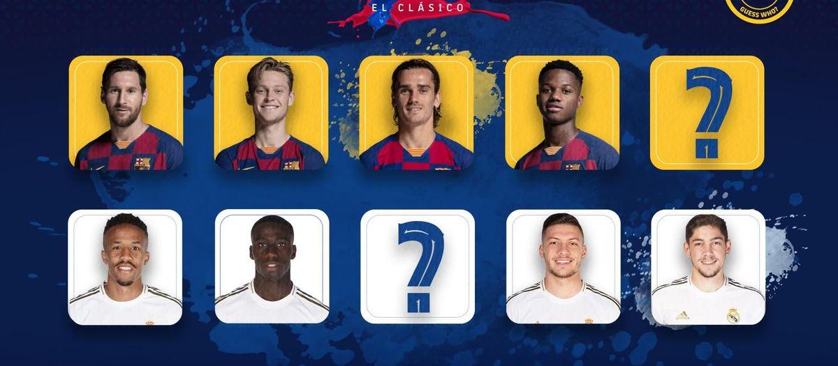 El 'Qui és qui?' del Clàssic