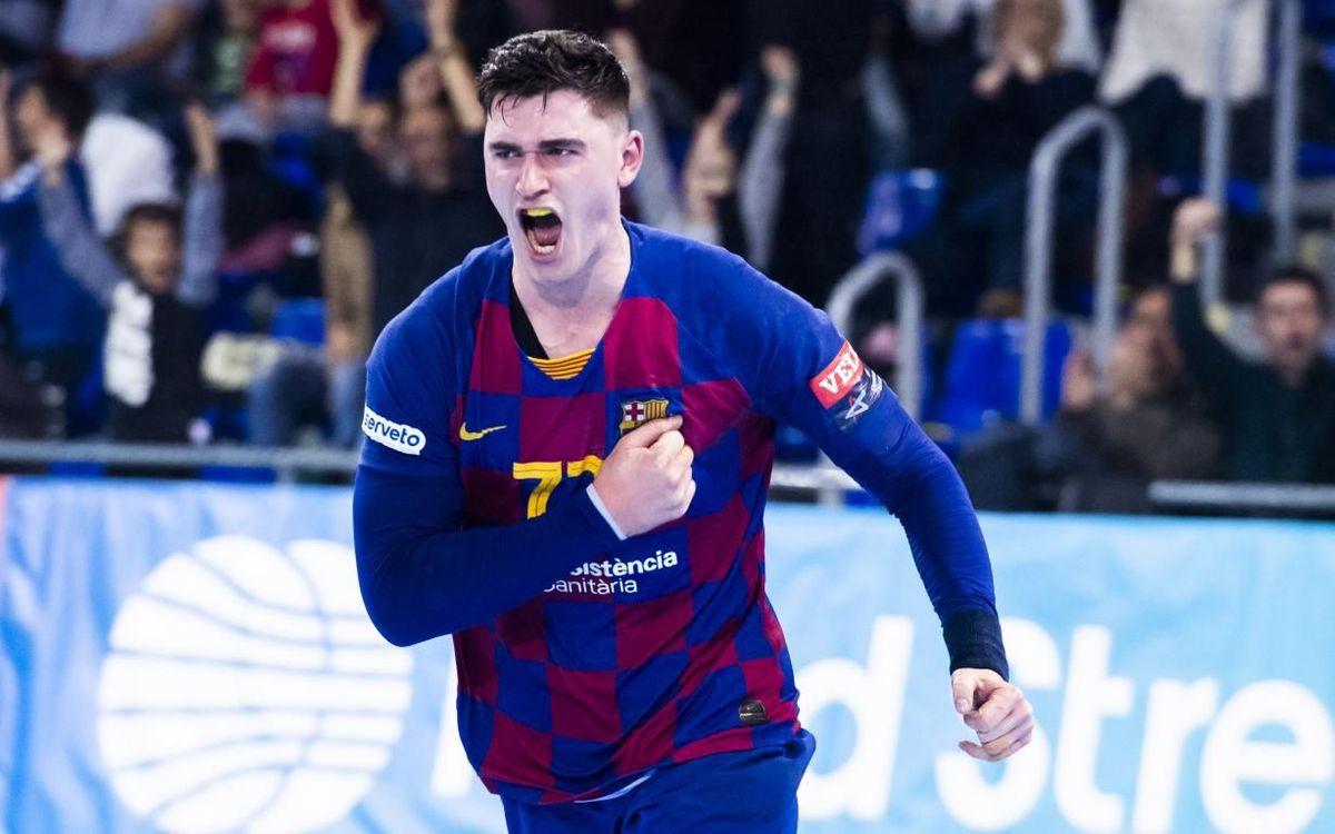 Barça 30-28 MOL-PickSzeged: Last gasp victory
