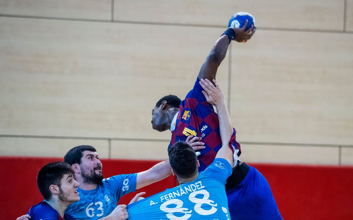 Barça B – Cajasur BM (37-24): Exhibición del segundo equipo