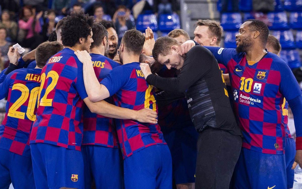 Barça – MOL-Pick Szeged: En el Palau siempre hay algo en juego