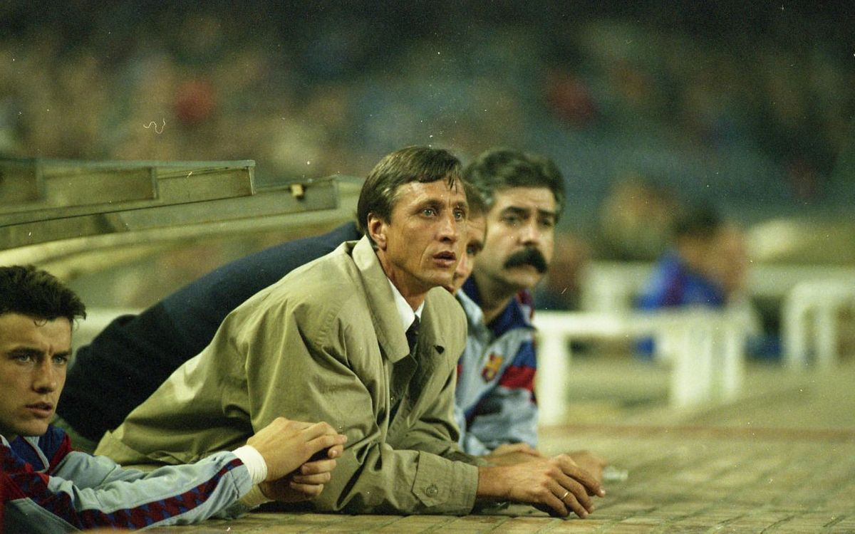 Johan Cruyff, an incomparable legend