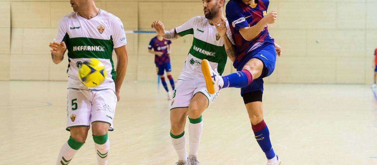 Barça B – Elx (5-1): Gran triomf