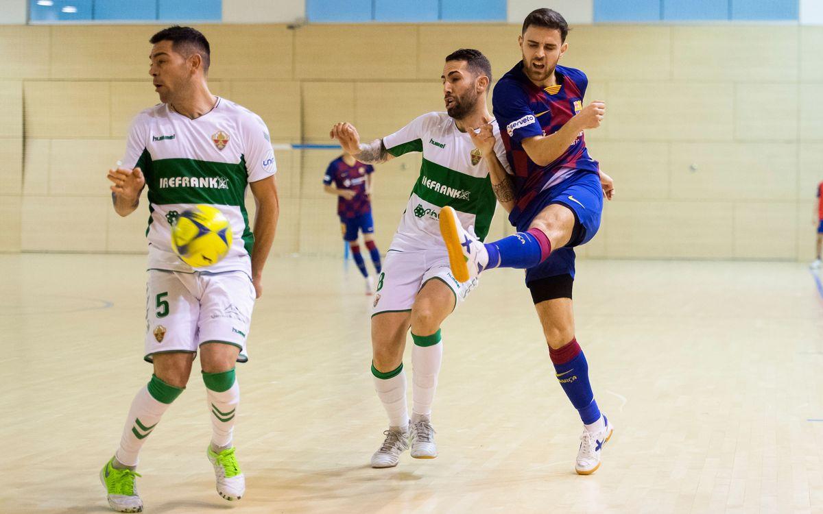 Barça B - Irefrank Elche CF (5-1): Gran triunfo
