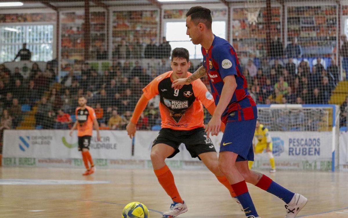 Burela 1-6 Barça: Big win before Spanish Cup