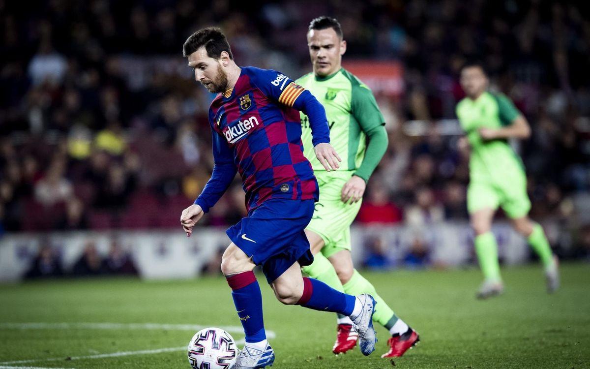 Barça v Leganés kick off time confirmed