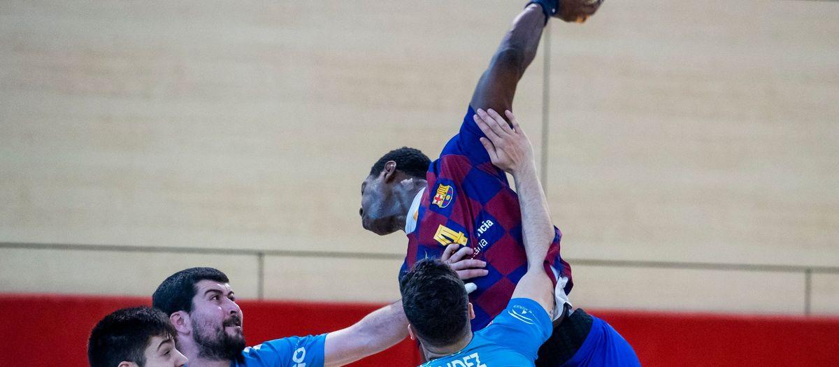 Barça B – Cajasur BM (37-24): Exhibició del segon equip