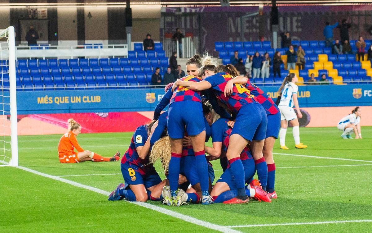 Barça Femení – Madrid CFF (prèvia):  De nou a casa, abans de l'aturada