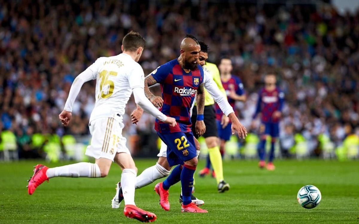 صور مباراة : ريال مدريد - برشلونة 2-0 ( 01-03-2020 )  Mini__P2F9166