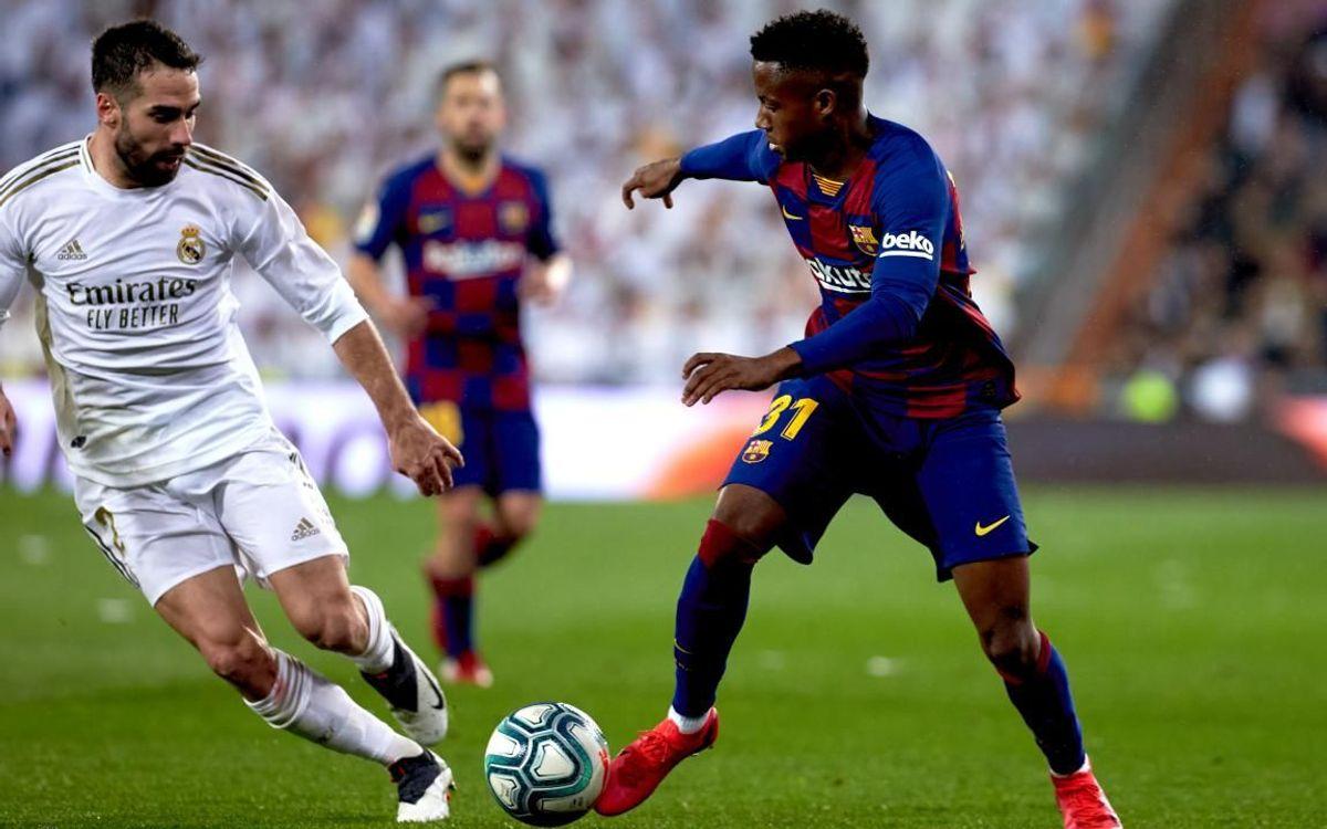 صور مباراة : ريال مدريد - برشلونة 2-0 ( 01-03-2020 )  Mini__P2F9268