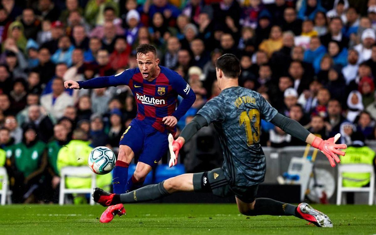 صور مباراة : ريال مدريد - برشلونة 2-0 ( 01-03-2020 )  Mini__P2F9056