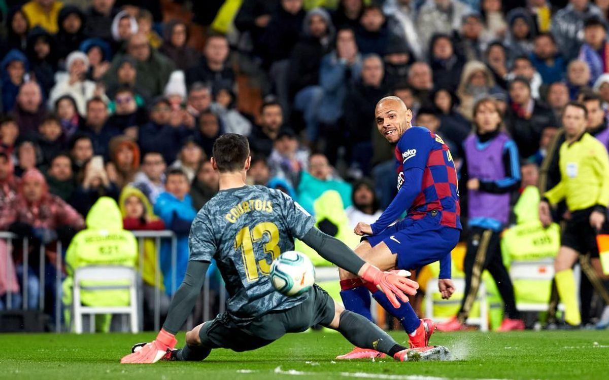 صور مباراة : ريال مدريد - برشلونة 2-0 ( 01-03-2020 )  Mini__P2F9192