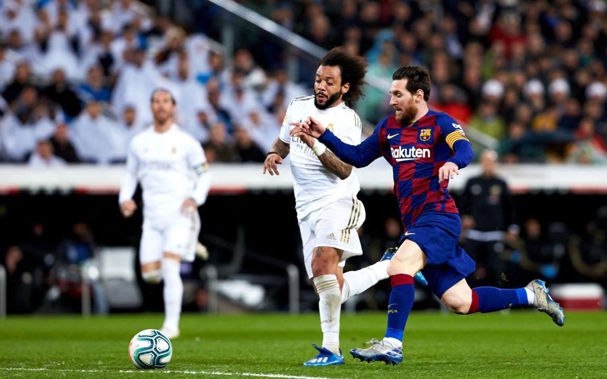 صور مباراة : ريال مدريد - برشلونة 2-0 ( 01-03-2020 )  Mini__P2F9205