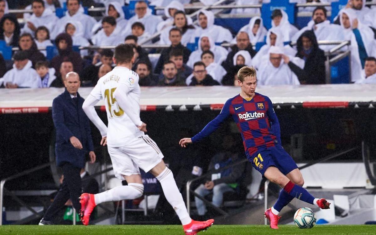 صور مباراة : ريال مدريد - برشلونة 2-0 ( 01-03-2020 )  Mini__P2F8904