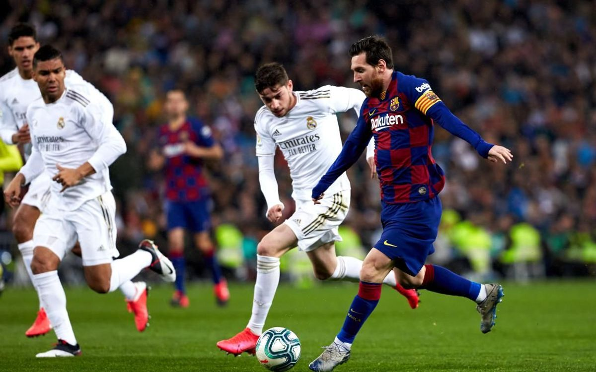 صور مباراة : ريال مدريد - برشلونة 2-0 ( 01-03-2020 )  Mini__P2F9124