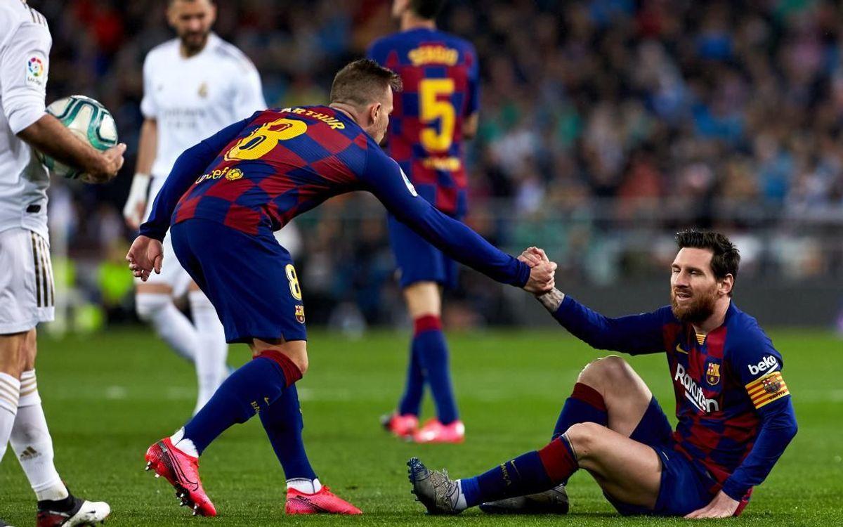 صور مباراة : ريال مدريد - برشلونة 2-0 ( 01-03-2020 )  Mini__P2F9137