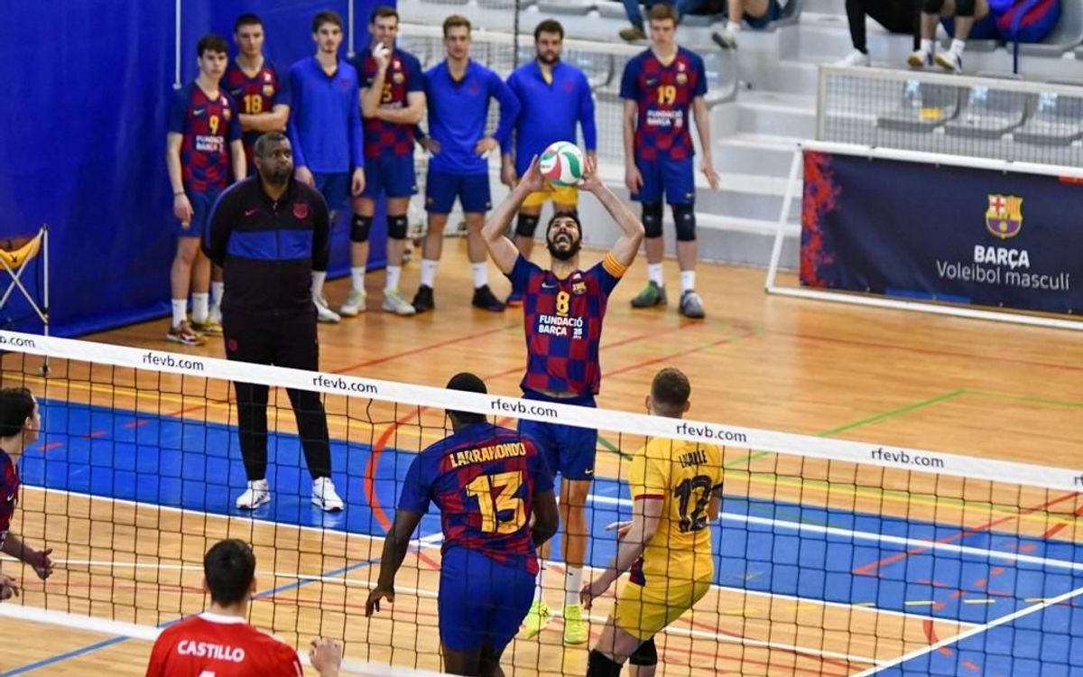 El Barça sentencia la fase regular imponiéndose al Tarragona