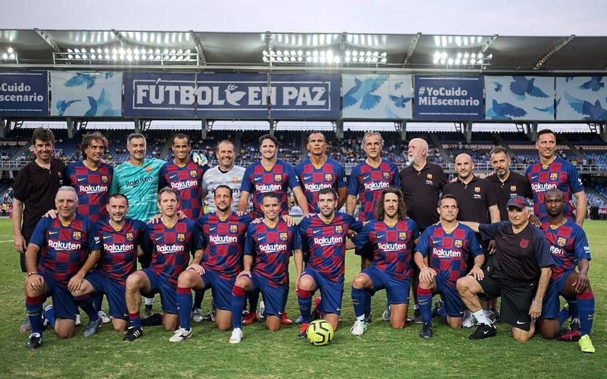 4-0 win for Barça Legends in Cali, Colombia