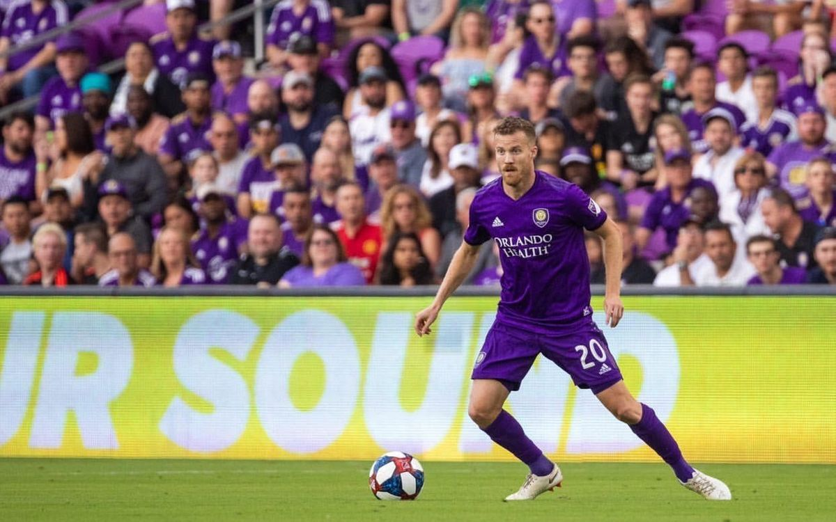 Oriol Rosell in action for Orlando City