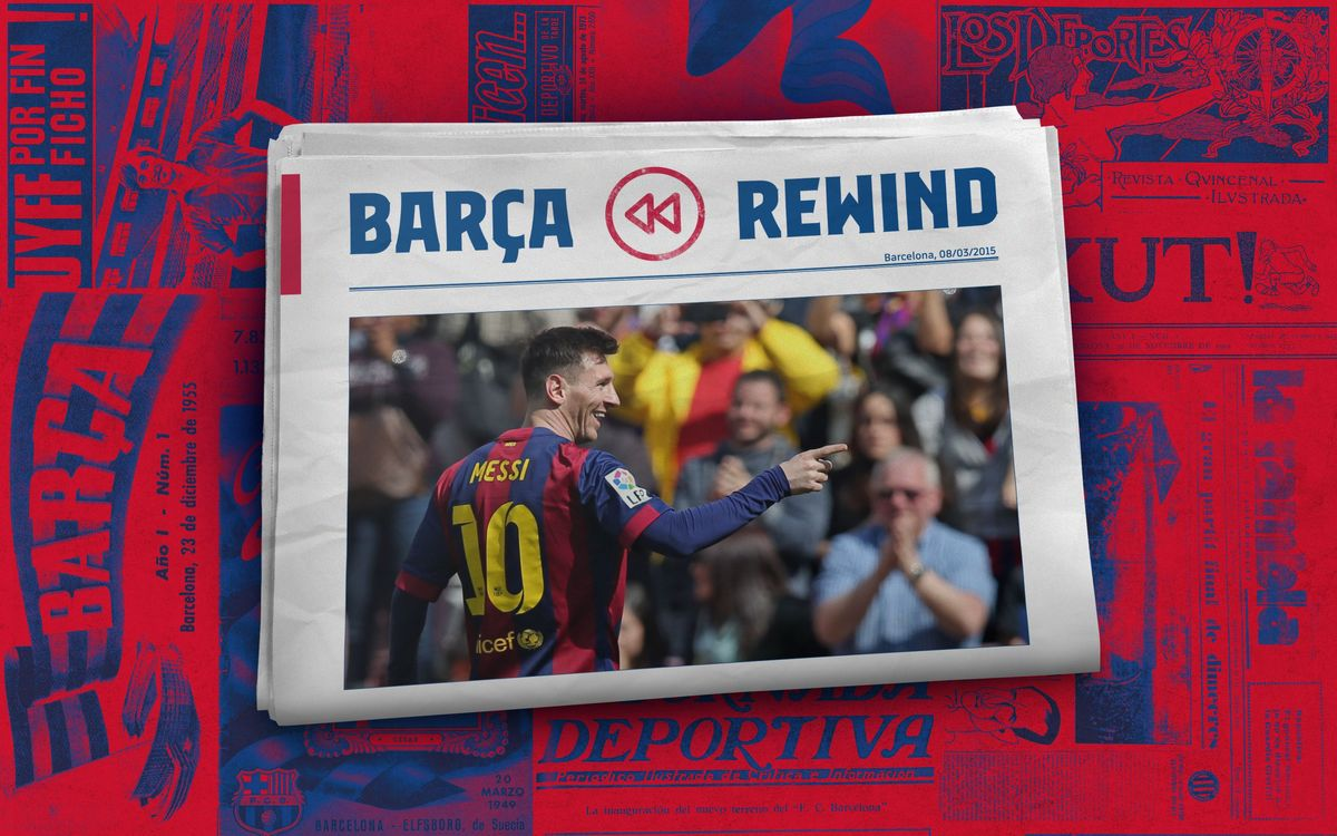 Barça Rewind: Leo Messi's quickest-ever Barça hat-trick