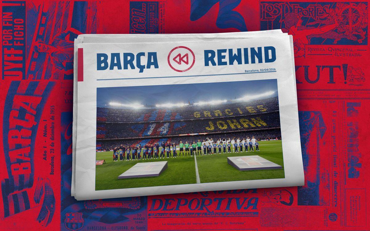 Barça Rewind: A record attendance for El Clásico
