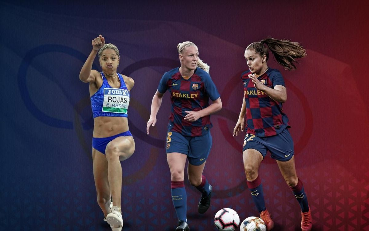 Barça women at the Olympics