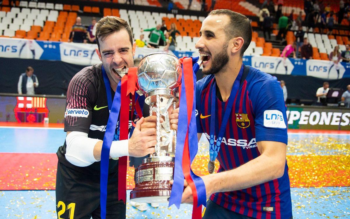 Dídac i Boyis busquen la seva tercera Copa consecutiva
