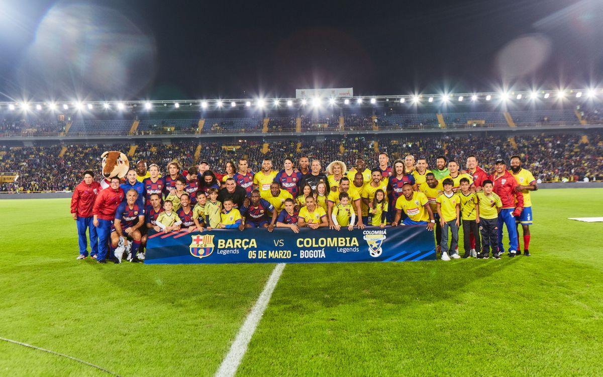 Empate constructivo para despedir la gira colombiana