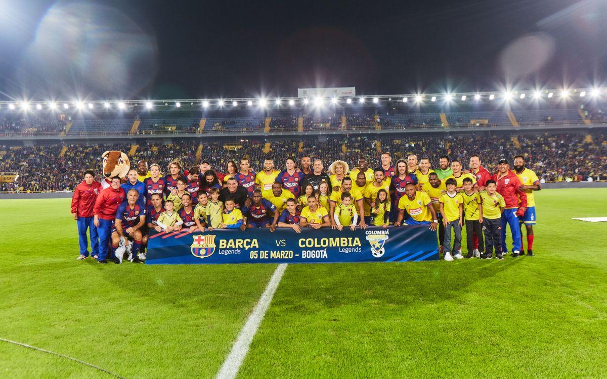Empat constructiu per acomiadar la gira colombiana