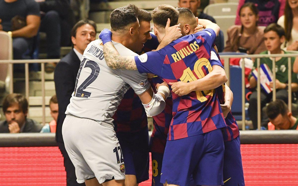 Barça - Osasuna Magna: Con paso firme hacia las semifinales (3-1)
