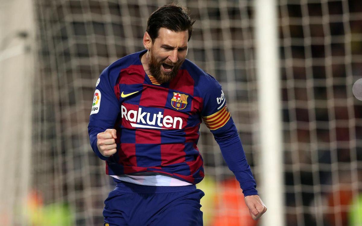 Barça – Reial Societat: Tres punts d'or (1-0)