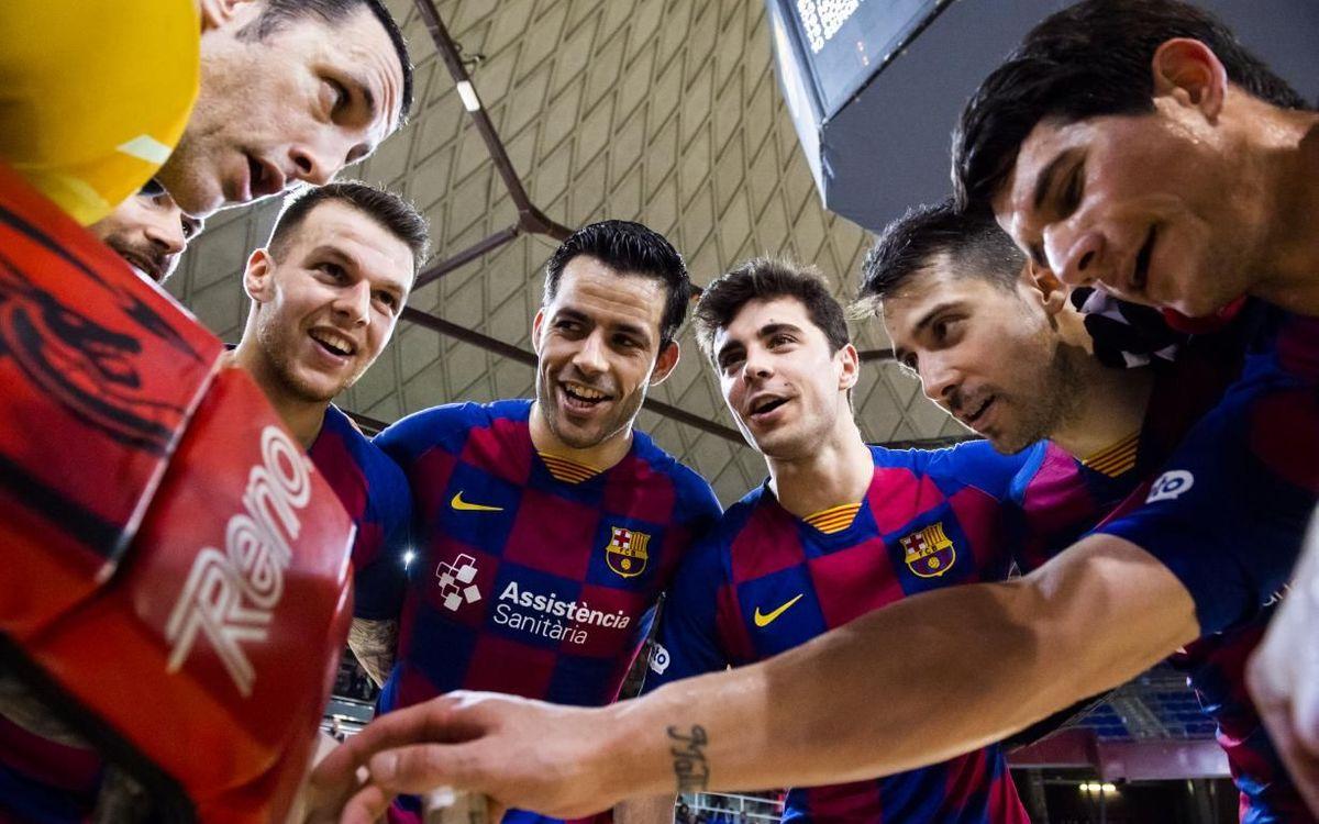 Barça - Club Patí Vic: ¡Triunfo histórico! (8-0)