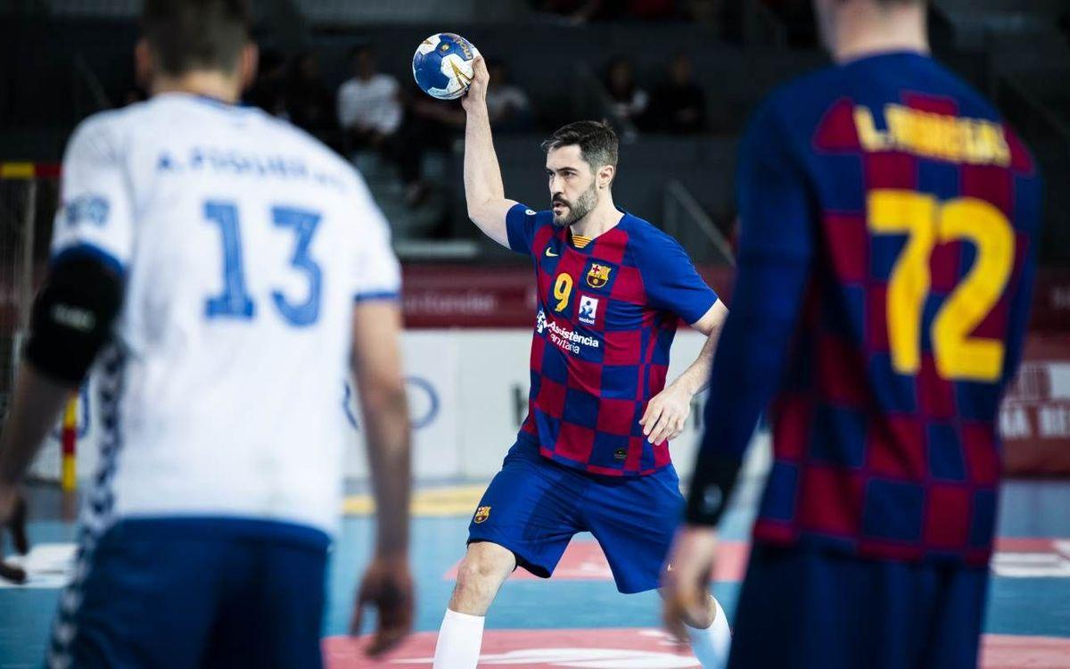 Barça – Ademar León: Concentrados en llegar a la final