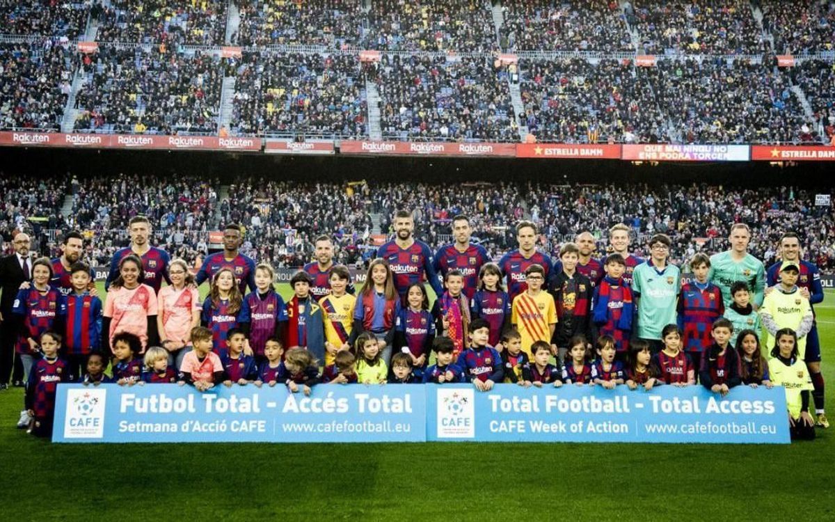 Barça supports week of action on stadium accessibility
