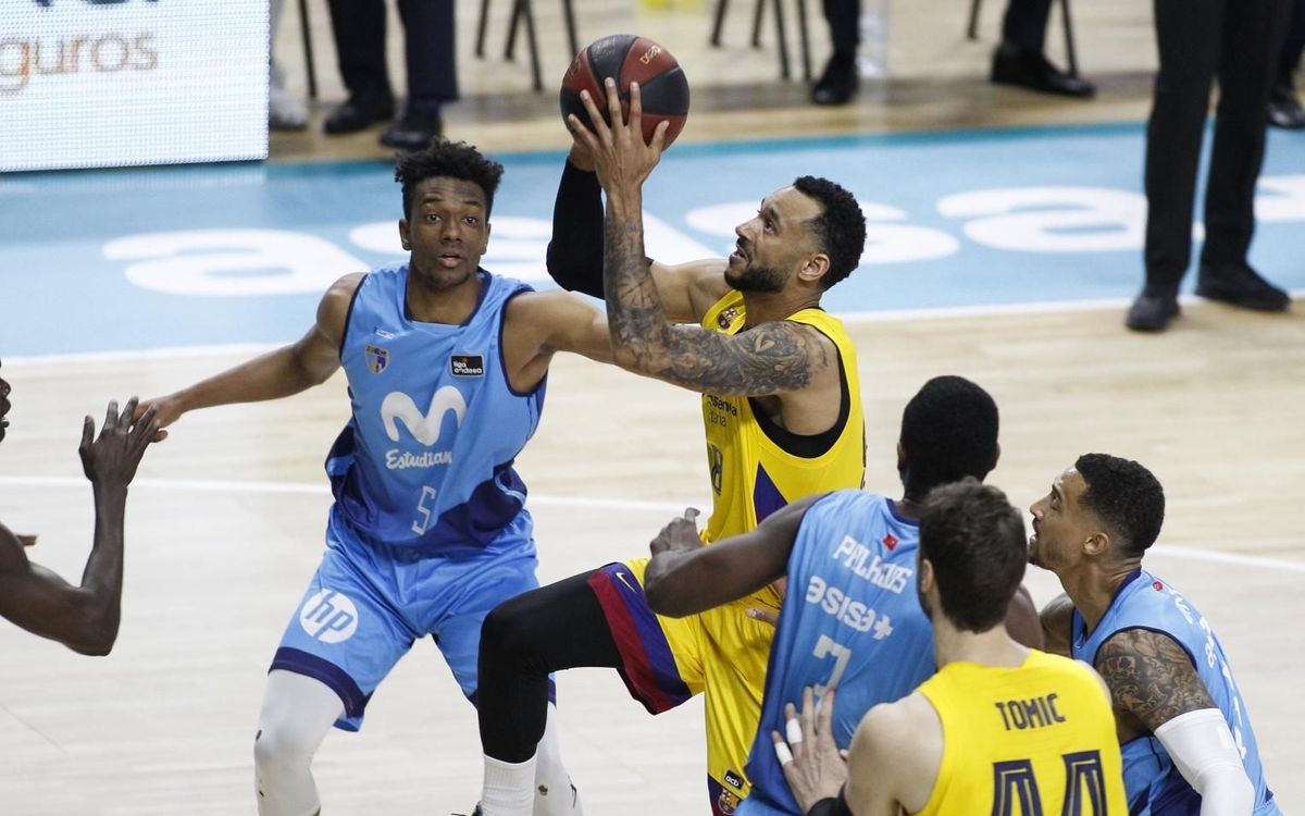 Movistar Estudiantes 67-74 Barça: Third win in five days