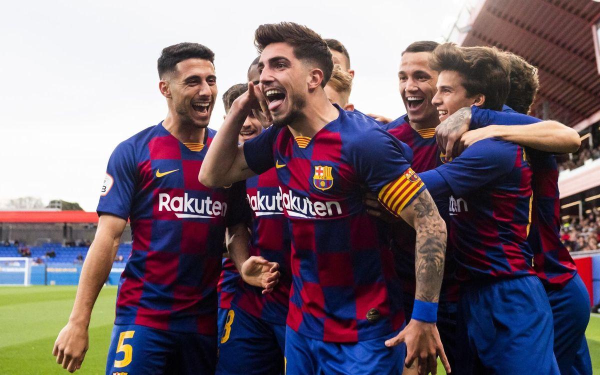 Barça B – Llagostera: Llicència per somiar (3-2)