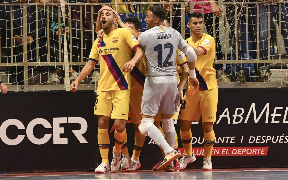 Valdepeñas 3-4 Barça: Spanish Cup title defended!