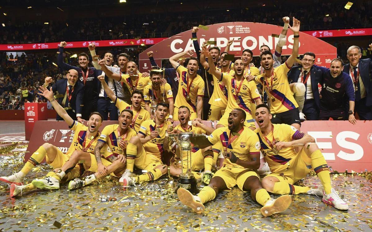 El Barça guanya la cinquena Copa d'Espanya