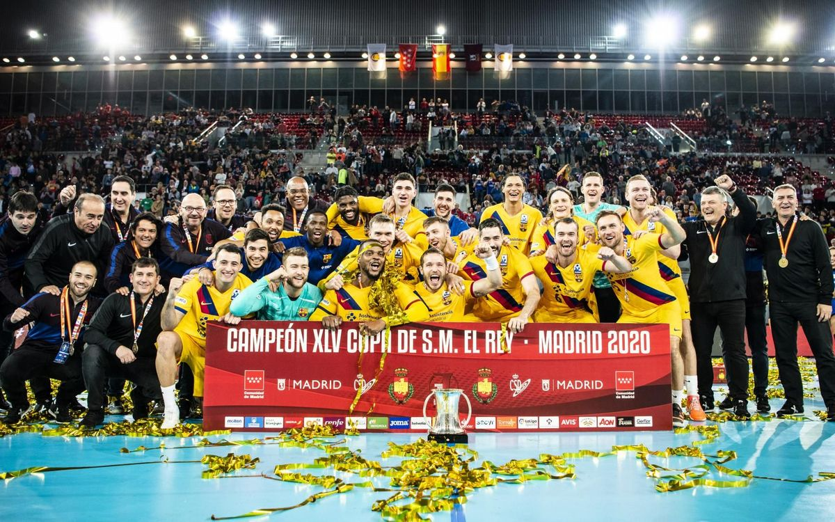 Barça 40-25 BM Benidorm: Seventh Copa del Rey in a row