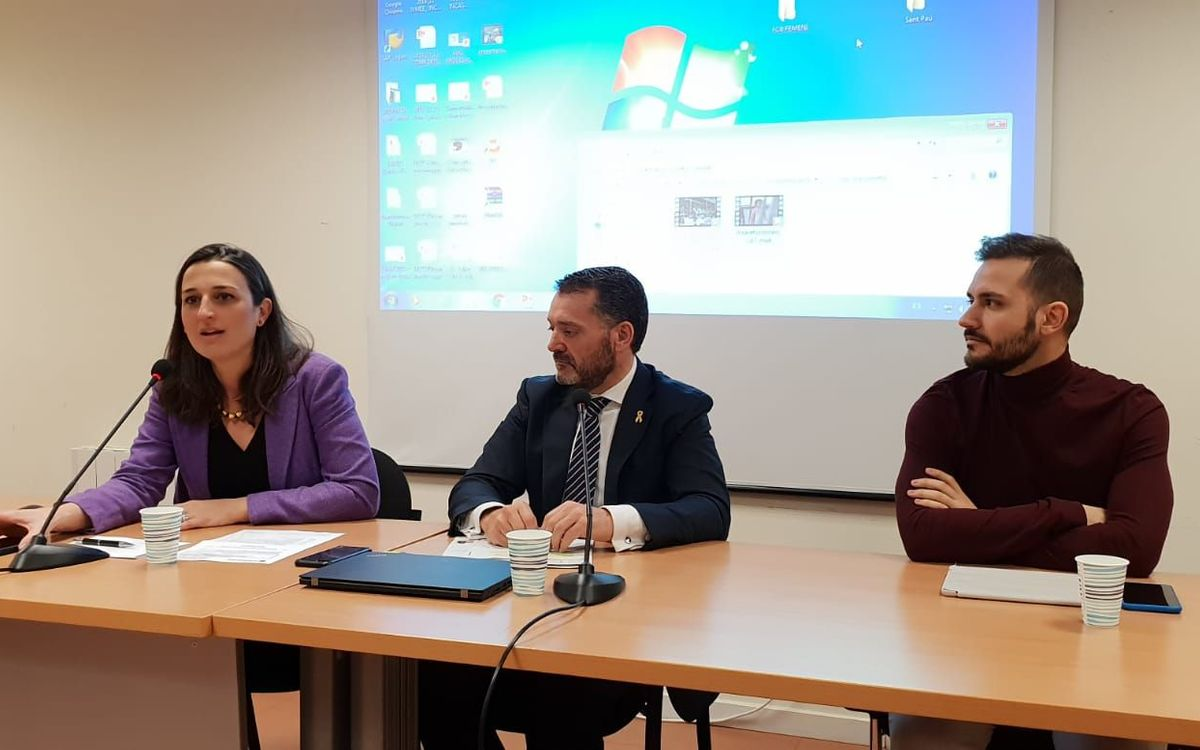 Maria Teixidor participa en una xerrada d'INCASÒL per sensibilitzar sobre la igualtat