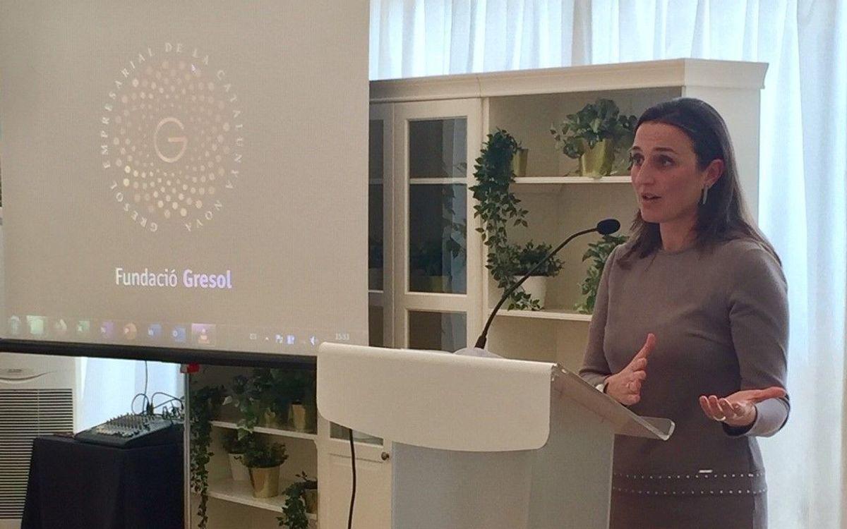 Maria Teixidor, protagonista de un encuentro organizado por la Fundació Gresol