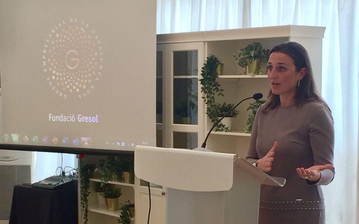 Maria Teixidor, protagonista d'una trobada organitzada per la Fundació Gresol