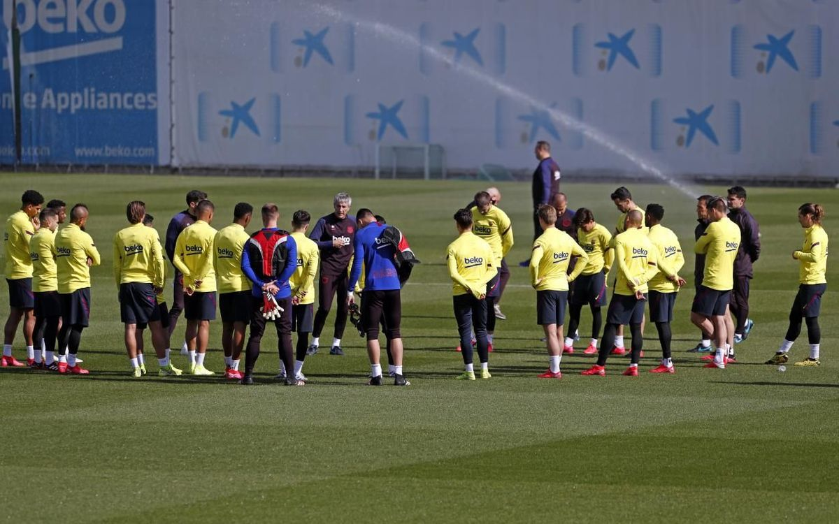 Covid-19: How Barça trains during the isolation period
