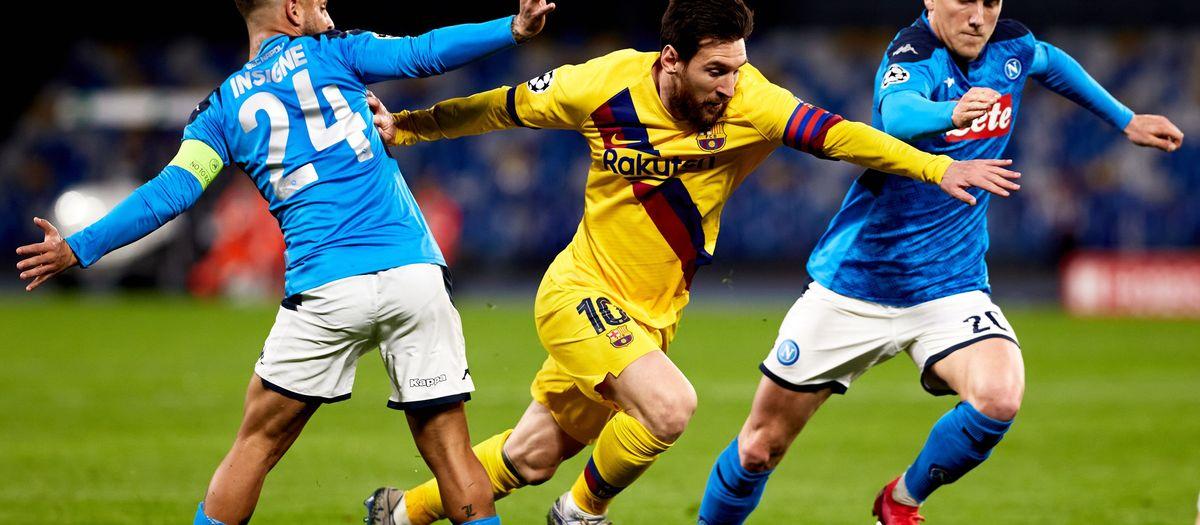 Barça - Naples reporté
