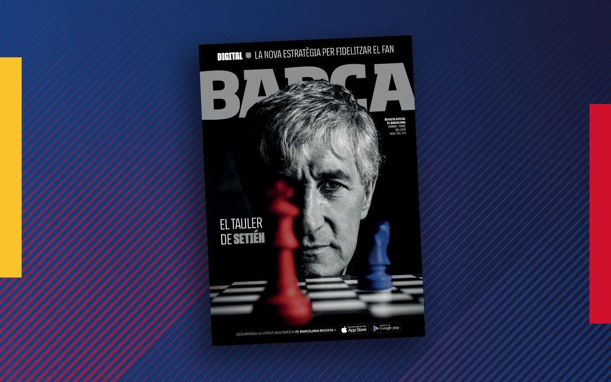 Radiografía humana y futbolística de Setién en la Revista Barça