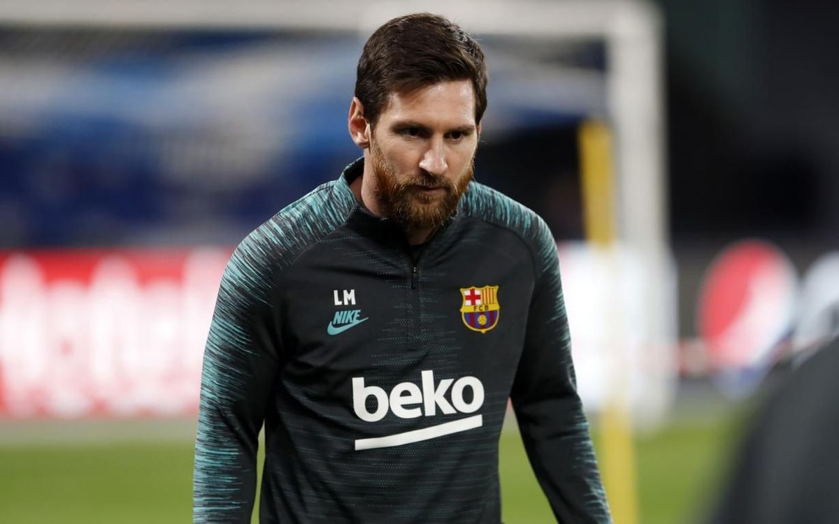 Messi: It's time to be responsible and stay at home
