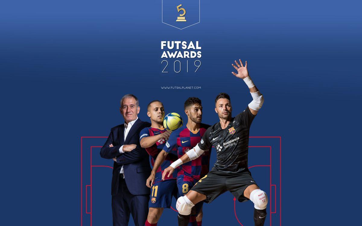 El Barça acapara las nominaciones a los mejores del mundo