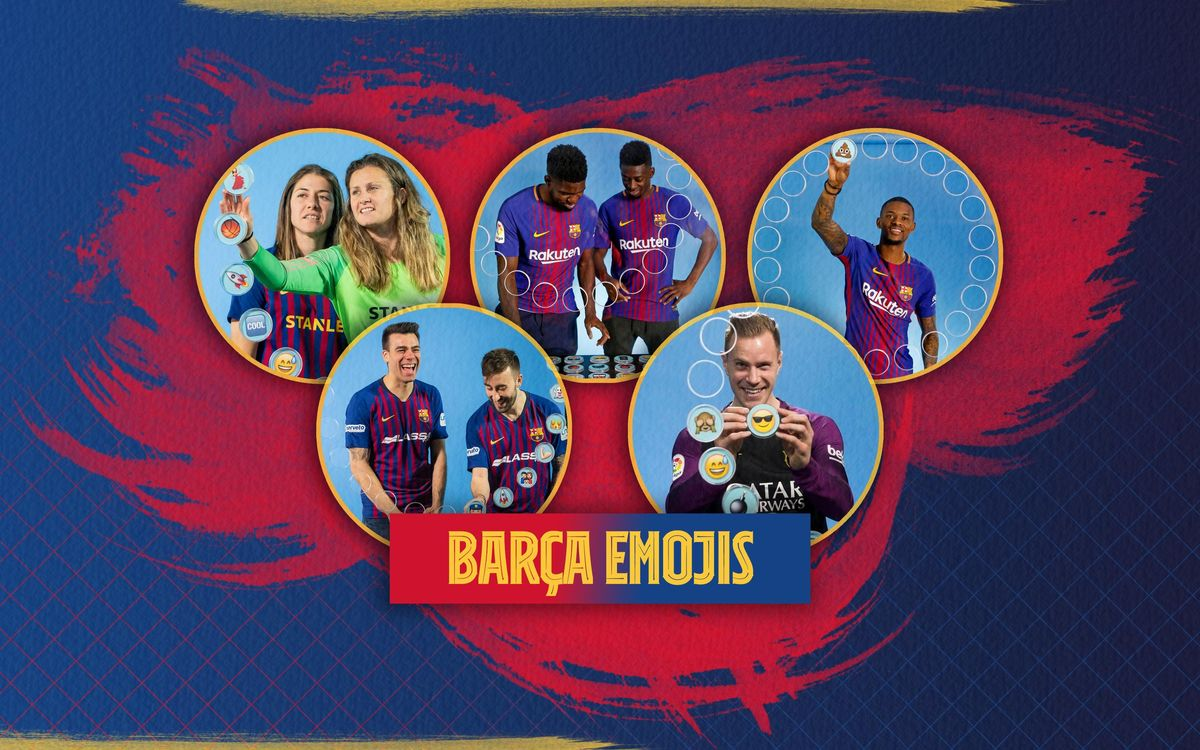 'Barça Emojis' bring some joy to your day